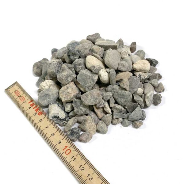 Ærtesten 8-16 mm 1 ton leveret i bigbag