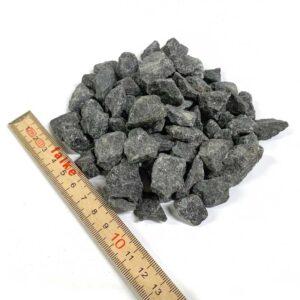 Sort granit 11-16 m 1 ton leveret i bigbag